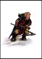 Harsk the dwarf by Thepastart