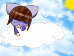 Felicity, Resting In The Clouds by Sweets-Delicious