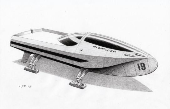 Flying - house - boat - spaceship by JamesF63
