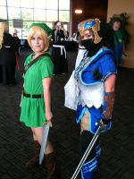 Myself with Young Link at Natsucon by Zelda--Master