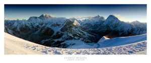 Everest Region by mortimea