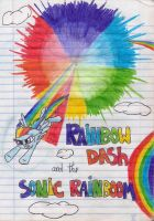 Rainbow Dash and the Sonic Rainboom by xKingSombra324