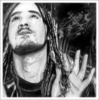Bizzy bone Black and white by Brian05