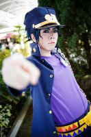 JoJo's Bizarre Adventure - Kujo Jotaro by ShadowDorumon