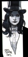 Zatanna head-sketch by craigcermak