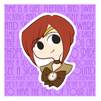 Time is a Gift by kennasaur