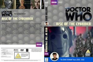 Doctor Who Rise of the Cybermen Classic Cover by HaddonArt