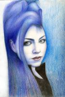 amy lee in blue by onpumi