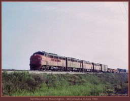 Northbound to Bloomington by classictrains