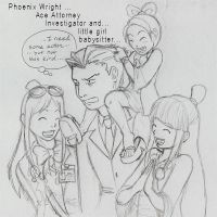 Phoenix Wright by mianime