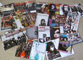 Black Veil Brides' Magazines by kittykatc666