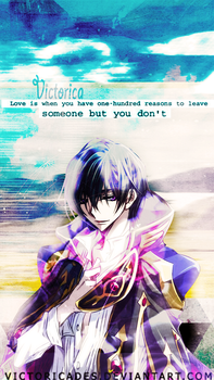 Lelouch Wallpaper #1 by victoricaDES