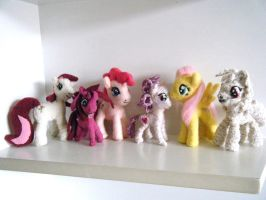All small pony plushies! by Knienke