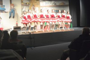 Dance Company Christmas Show,Santa's Tap Girls5 by Miss-Tbones