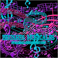 +Brushes Musicales. by UpAllNiall