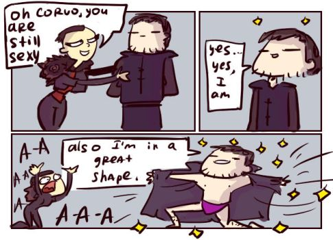 dishonored 2, doodles 7 by Ayej