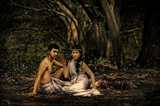 Adam And Eve 02 by Juanmayo