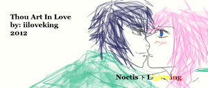 Thou Art In Love - Lightning x Noctis Cover by iiloveking