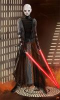 Asajj Ventress by Manji675