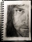 Aidan Turner: Pencil of Half Kili by SHParsons