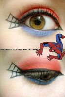 Spiderman Makeup by Steffmiesterx13