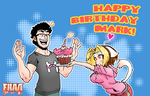 Happy Birthday Markiplier! by FrancoTieppo