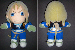 Zidane Tribal Plush by Dead-Beliefs