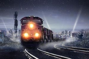 Midnight train by a1exandro