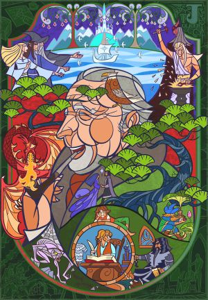 Tolkien:Lord of the middle earth by breathing2004
