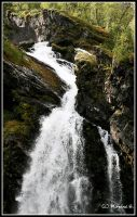 waterfall by moem-photography
