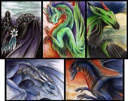 ACEO Batch 6 by Lyswen