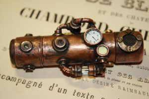 steampunk USB flash drive 1 by Marseau