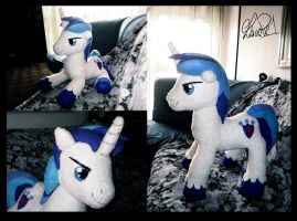 Shining Armor plush by Chibi91