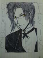 Claude Faustus by CrystalizedBlood