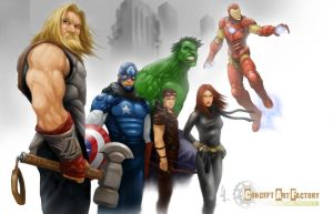 Avevengers... When the Dust Settles by alo4477