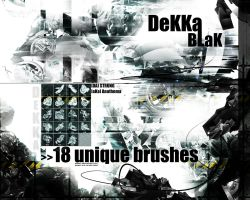DeKKa BLaK - Brush Set by Strung