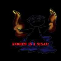 Andrew is a Ninja by InkedSilver