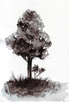 ink tree by lilac-f