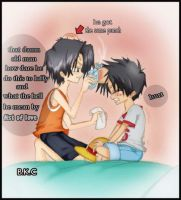 OP.ace and luffy brotherhood by bekacca