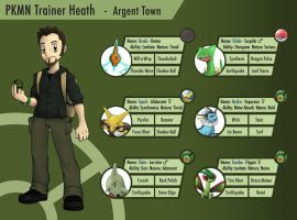 PKMN Trainer Heath ref sheet by Hewryu