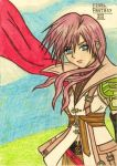 Lightning Farron: Keep your eyes front! by dagga19