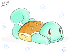 Baby Squirtle by Akemijo