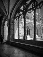 Jeronimos Monastery by rhipster