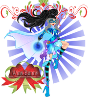 WSSS: Torrey as a super hero by Winx-Bunny
