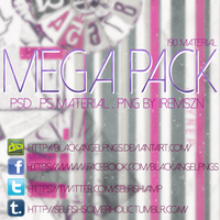 Mega Pack by BlackAngelPNGs