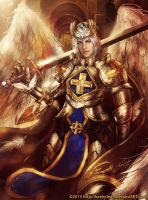 Knight of Gold by keelerleah