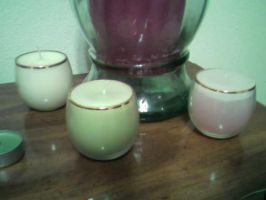 Soy candles in glass by TinyBunny