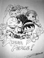 Avatar Peace by rice-claire