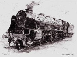 Royal Scot by Nelliehunter