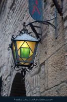 Rectangular Lamp 01 by kuschelirmel-stock
